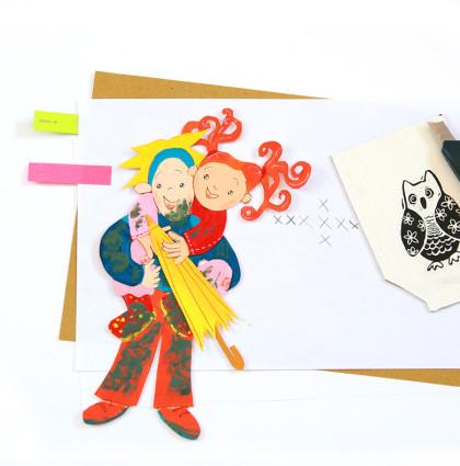 Website voor illustrator Linda de Haan