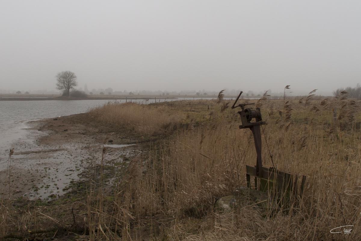 Waterdoorlaat Vreugderijkerwaard Zwolle