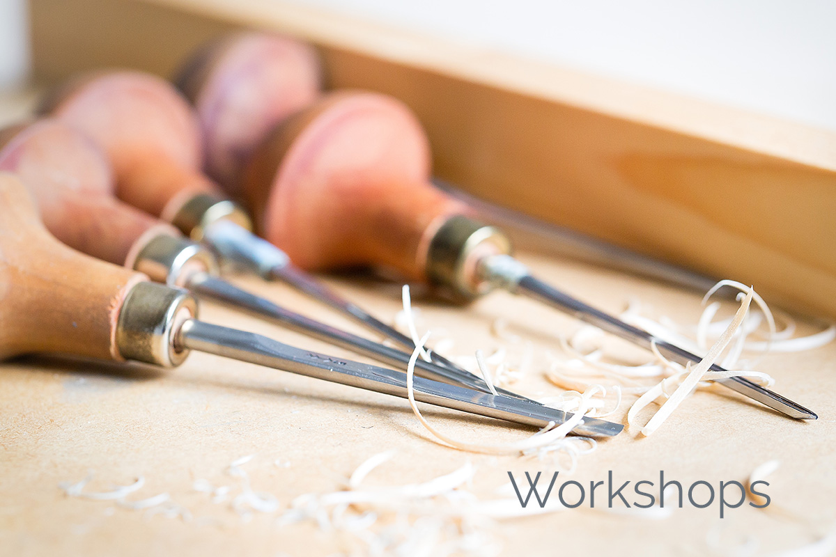 workshop linoleumsnede
