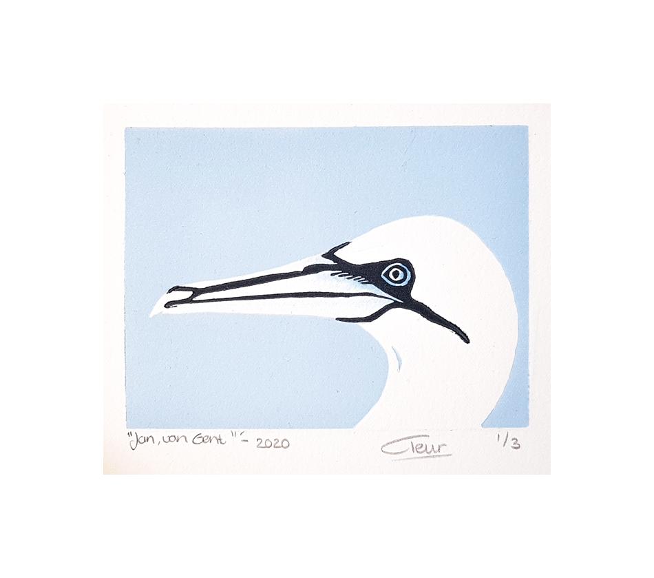 Jan van Gent llichtblauw