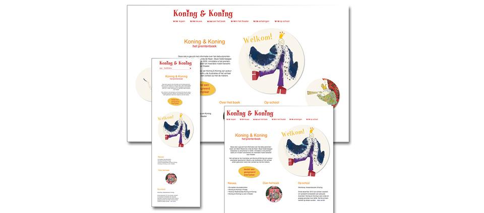 website Koning en Koning