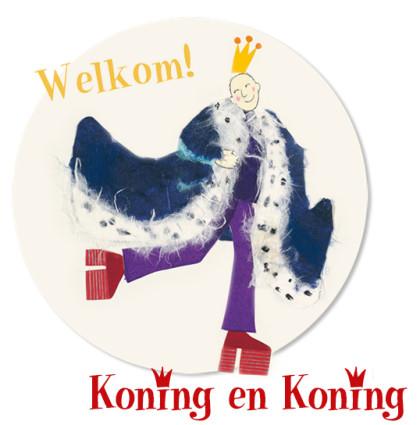 Website voor prentenboek Koning & Koning