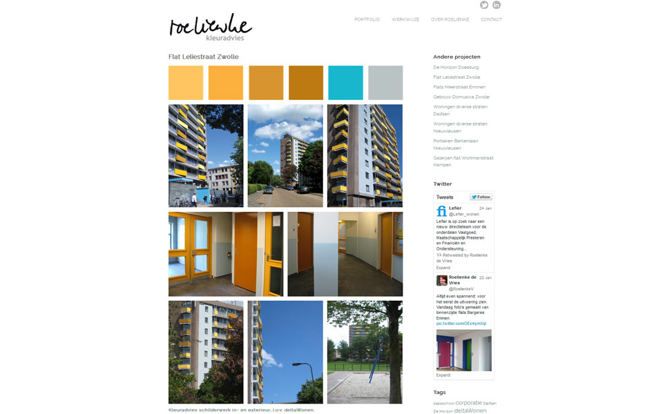 website Roelienke