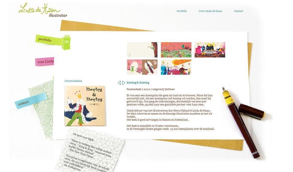 site Linda de Haan