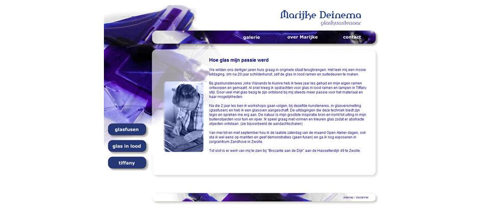 website marijke deinema