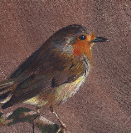"Vogelhoutje ""Robin"""
